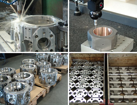 serial manufacturing of HYDROWATT components
